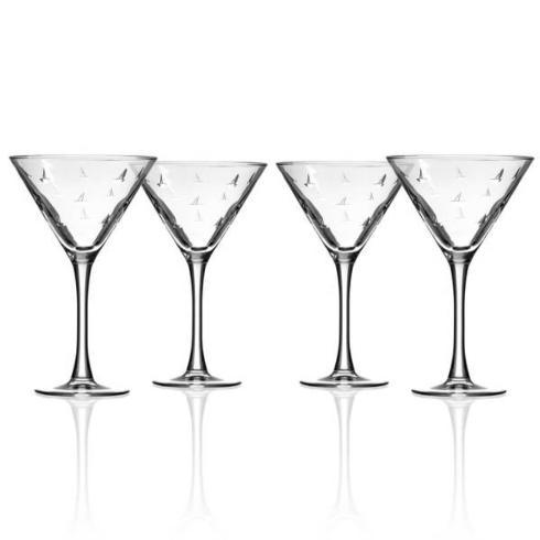 $65.00 Sailing Martini set/4