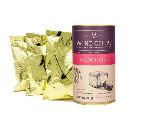 $10.95 Wine Chips Manchego