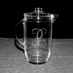 Tiger Lily   Acrylic Pitcher $54.95
