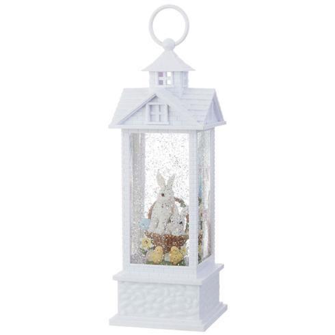 $33.60 Bunnies in Basket Lighted Water Lantern