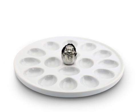 $42.00 Little Chick Egg Plate