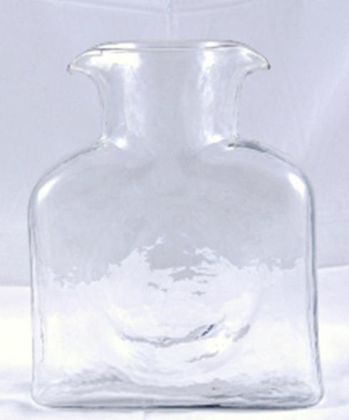 Blenko Glass Co   Water Bottle Clear $58.00