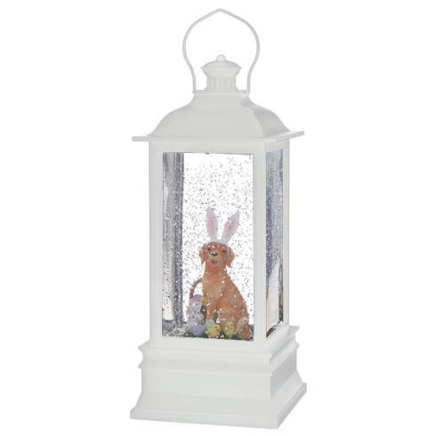 $26.40 Dog with Bunny Ears Water Lantern