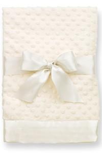 $26.95 Dotty Blanket Cream