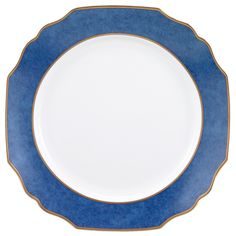 My Favorite Things Exclusives   Mottahedeh Festival Blue Service Plate $260.00
