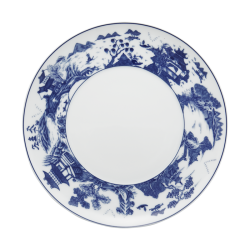 My Favorite Things Exclusives   Mottahedeh Blue Shou Dessert Plate $45.00