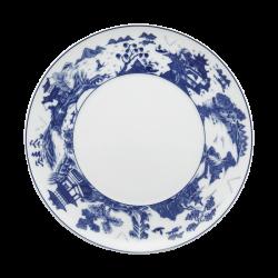 My Favorite Things Exclusives   Mottahedeh Blue Shou Dessert Plate $45.00