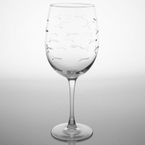 My Favorite Things Exclusives   Swimming Fish Wine Glass $12.95