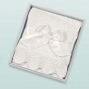 $38.00 White Vintage Crochet Blanket