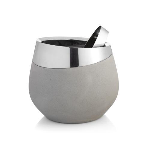Nambe  Forte Ice Bucket w/Tongs $150.00