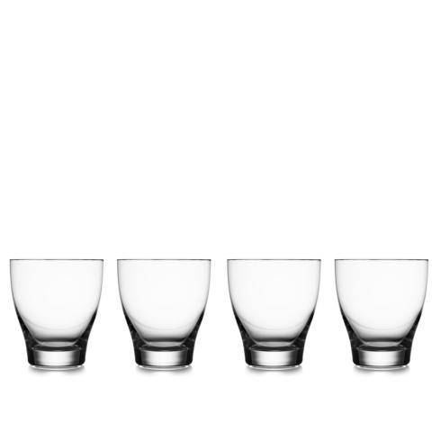 $50.00 Vie Double Old Fashioned Glasses (Set of 4)