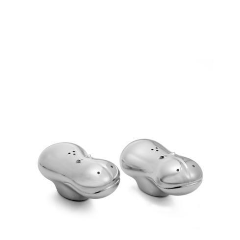 $40.00 Savanna Hippo Salt & Pepper Shakers