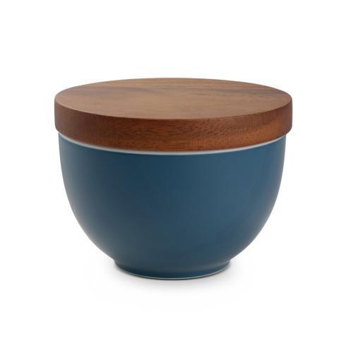 $0.00 Prism Candle Bowl w/ Lid - Aurora Blue