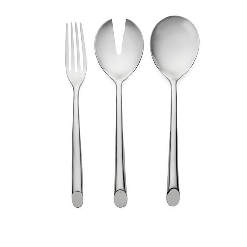 Nambé  Flatware Frond 3 Piece Hostess $65.00