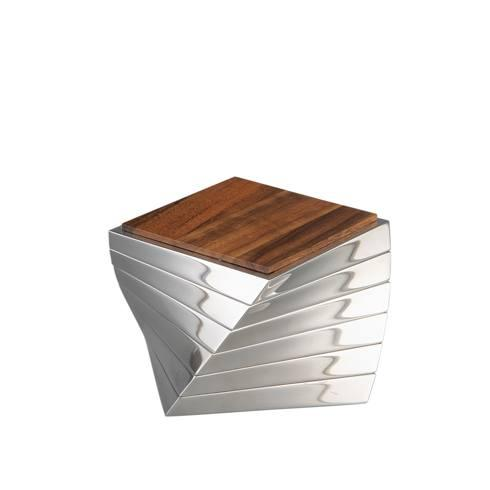 Nambe  Serveware Barware-Twist Coaster Set Of 6 $140.00