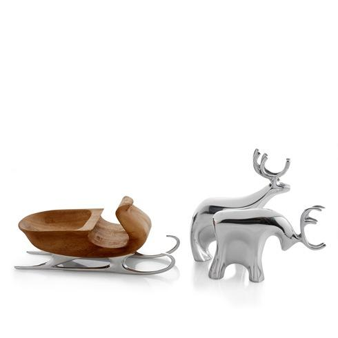 $225.00 Figurine-Sleigh With Reindeer