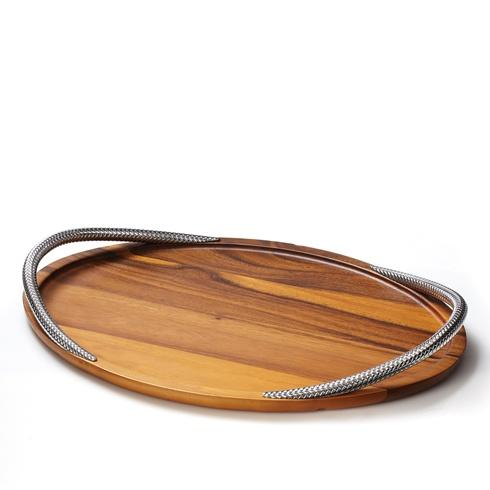 Nambé  Braid Serving Tray $150.00