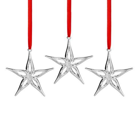 $25.00 Star Mini Ornaments (Set of 3)