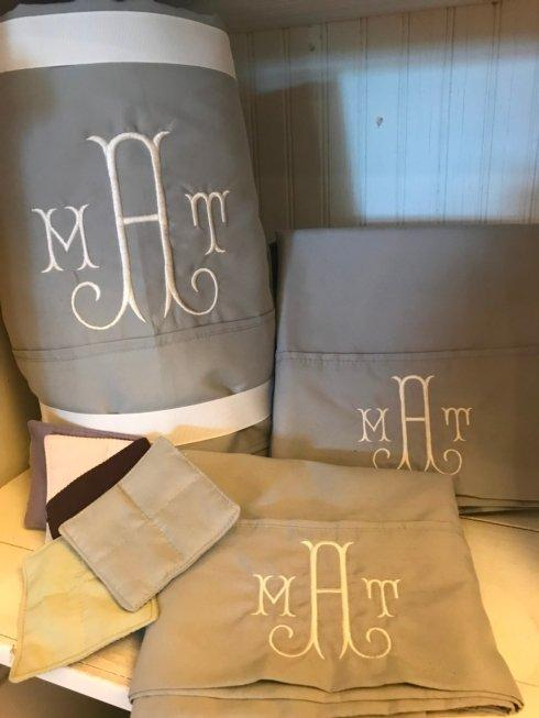 King Sheet Set Monogrammed collection with 1 products