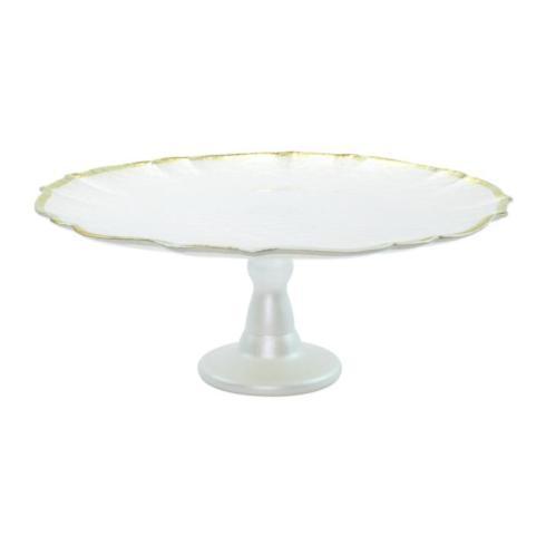 $78.00 Vietri Baroque Glass Cake Stand
