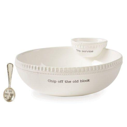 $49.00 Stacking Chip and Dip