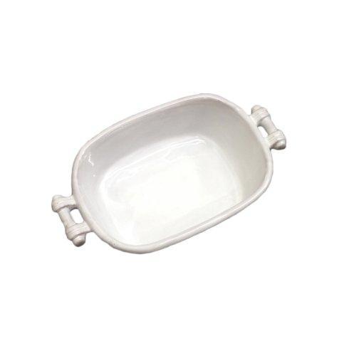 Small White Casserole