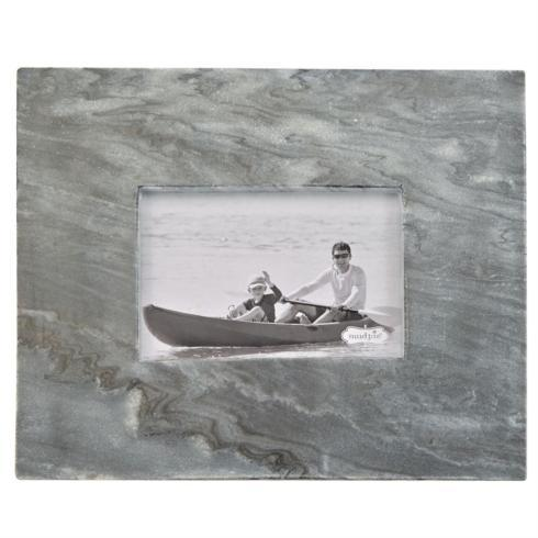 $39.00 Grey Marble Frame 5x7