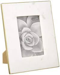 Mud Pie   White Marble Frame 5x7 $42.00