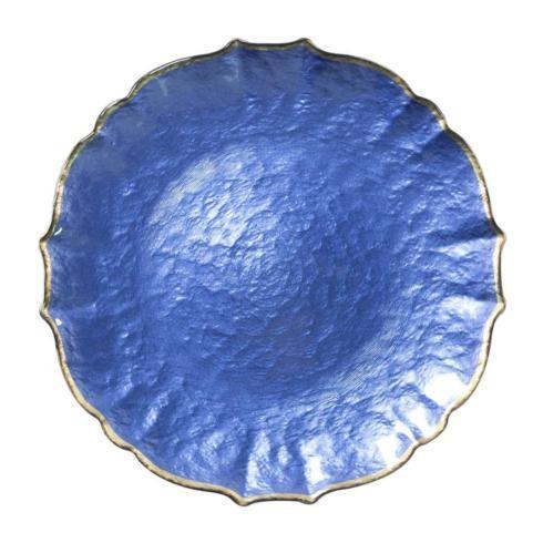 $36.00 Vietri Baroque Glass Charger