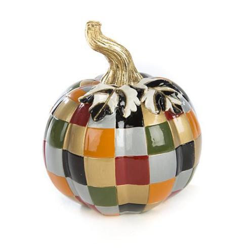 MacKenzie-Childs Mini Patchwork Pumpkin