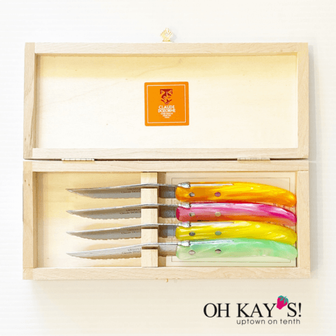 4 Berlingot Steak Knives, mixed collection with 1 products