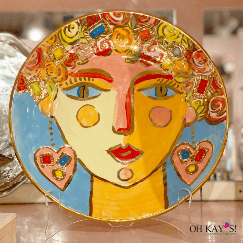 Mary Rose Young Face Plate - Gemma collection with 1 products