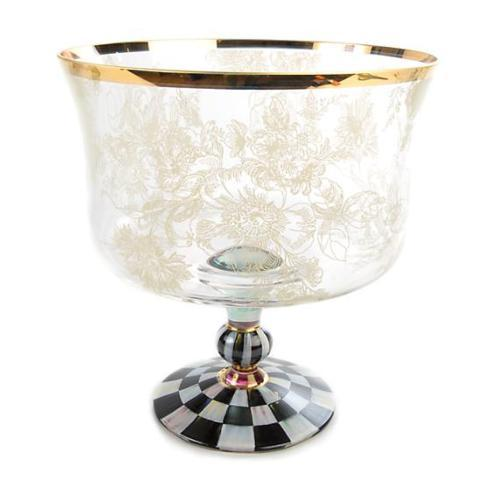 MacKenzie-Childs Blooming Trifle Bowl