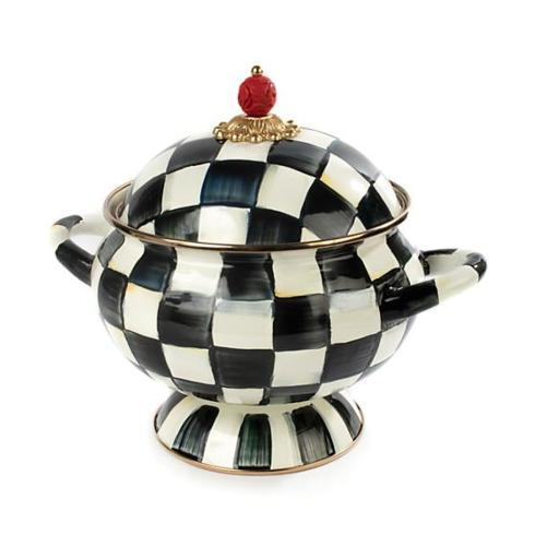 MacKenzie-Childs Courtly Check Tureen