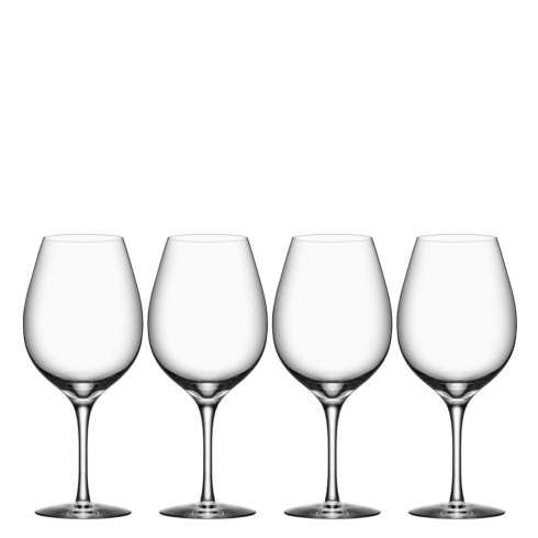 Orrefors  More Wine XL (Set of 4) $50.00