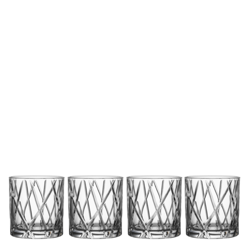 Double Old Fashioned (Set of 4)
