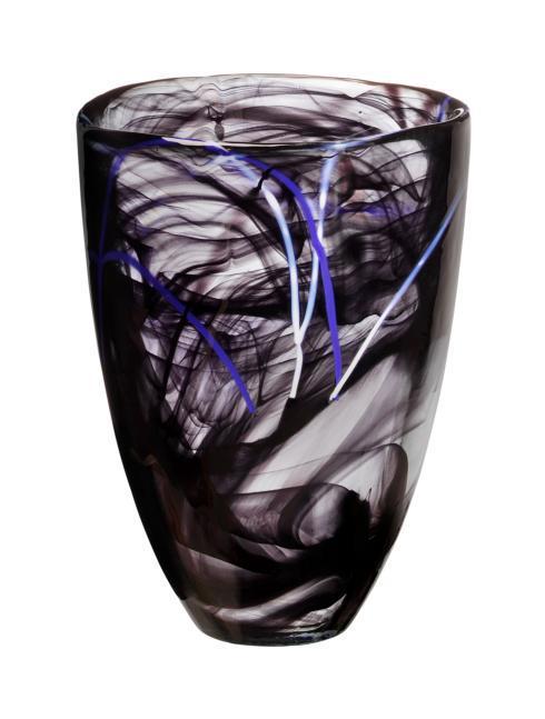 $100.00 Vase Black
