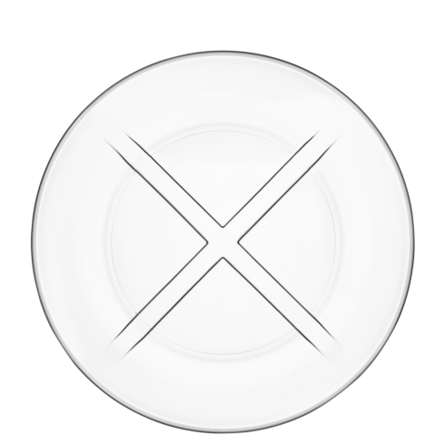 $14.95 Salad Plate (clear)