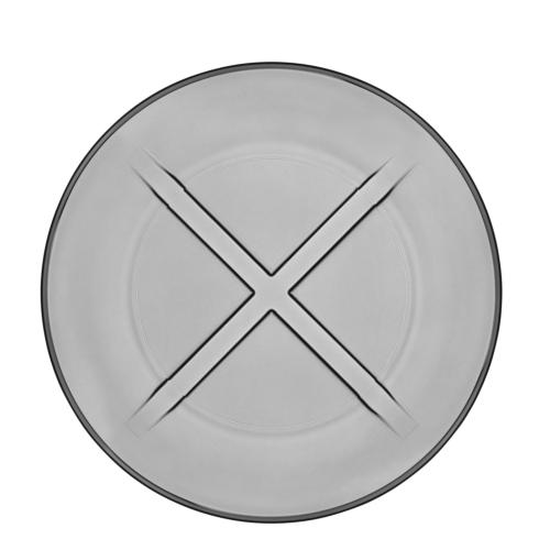 $14.95 Salad Plate (smoke grey)