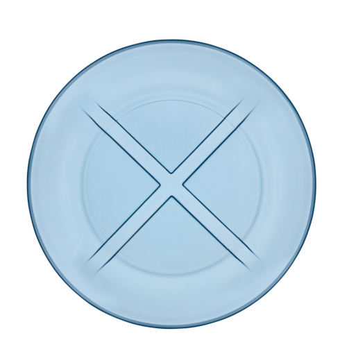 $14.95 Salad Plate (water blue)