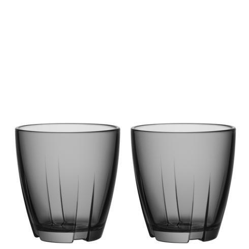 $14.95 Tumbler (smoke grey, small, pair)