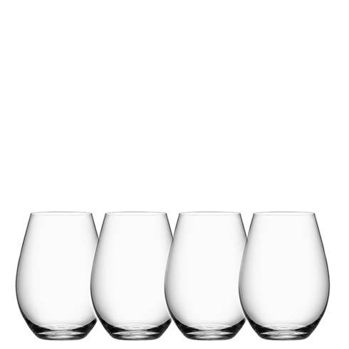 Orrefors  More Stemless Wine (set of 4) $50.00
