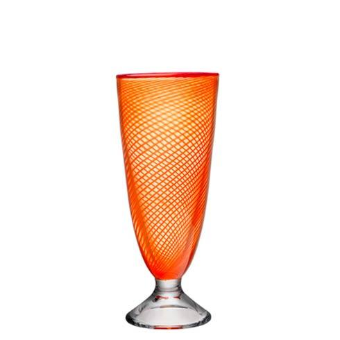 $415.00 Vase (footed, orange)