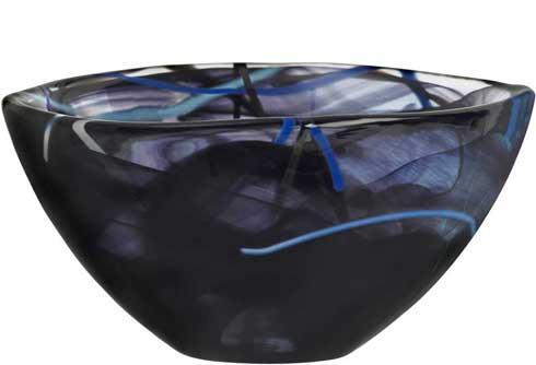 Kosta Boda  Contrast Bowl, Black $50.00