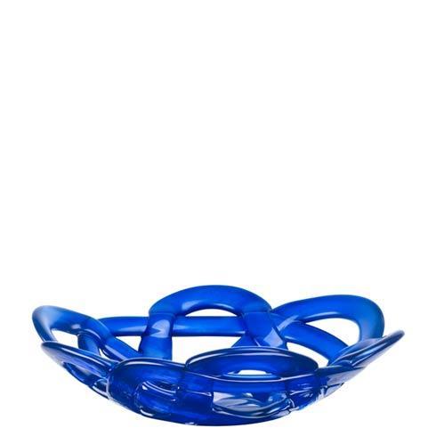 Kosta Boda  Basket Bowl (blue, small) $105.00