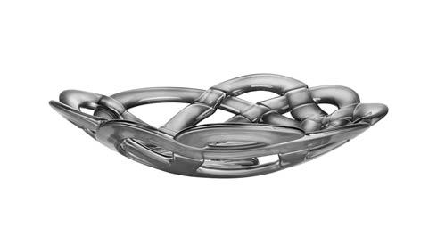 Kosta Boda  Basket Bowl (silver, large) $185.00