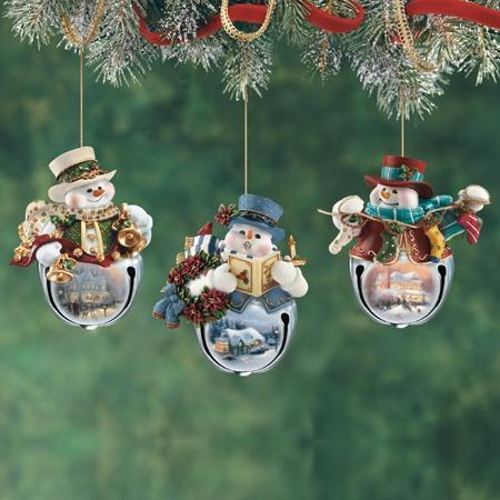 $19.00 Snowbell Ornaments Individual