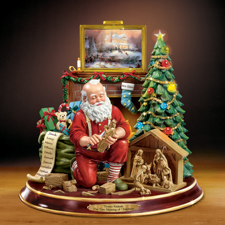 $149.99 BradfordExchange Santa