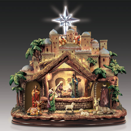 $179.99 BradfordExchange Nativity