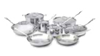 $1,500.00 Tri-Ply 14 pc Stainless Set